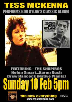TM POSTER BOB DYLAN GIG UNION FEB 2013